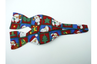 Christmas Eve Self Tie Bow Tie