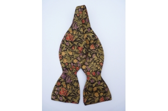 Christmas Floral 2 Self Tie Bow Tie