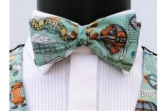 Age of Inventions(Steampunk) Pre Tied Bow Tie