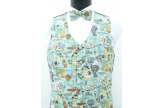 Age of Inventions(Steampunk) Waistcoat