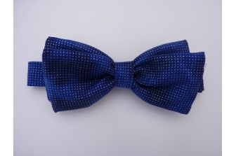Blue Shimmer Pre Tied Bow Tie