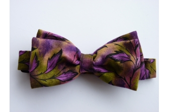 Autumn Leaves Pre Tied Bow Tie