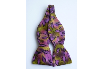 Autumn Leaves Self Tie Bow Tie