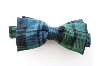 Cambell Ancient Tartan Pre Tied Bow Tie