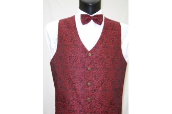 Red Thistle Waistcoat