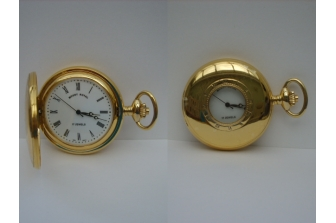 Gold Half Hunter Pocketwatch
