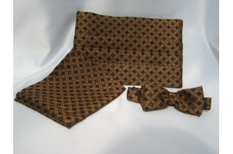 Copper/Gold Spot Cummerbund Set