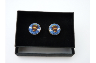 Honey Bee Cuff Links