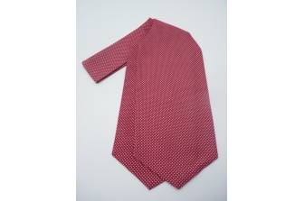 Hot Pink Dizzy Dots Self Tie Day Cravat