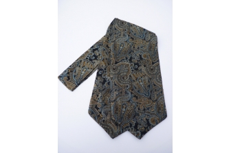 Paisley 2 Self Tie Day Cravat