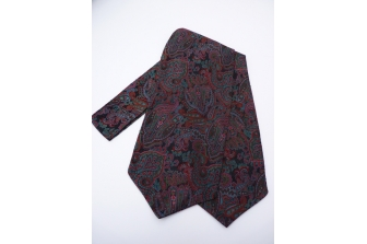 Paisley 3 Self Tie Day Cravat