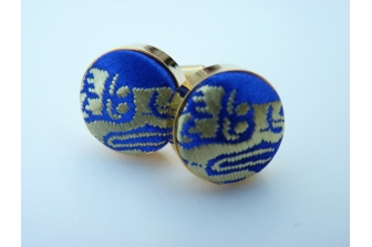 Royal/Gold Dragon Cuff Links