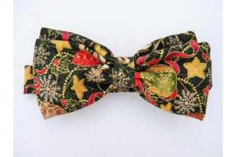 Baubles and Stars Pre Tied Bow Tie