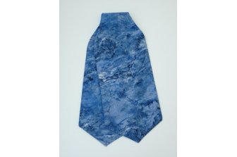 Blue Riverbank Self Tie Day Cravat