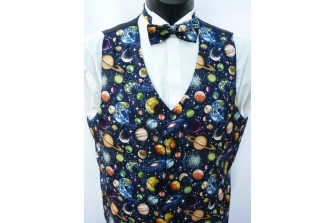 All Over Planets Waistcoat