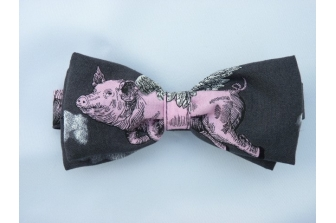 Flying Pigs Pre Tied Bow Tie