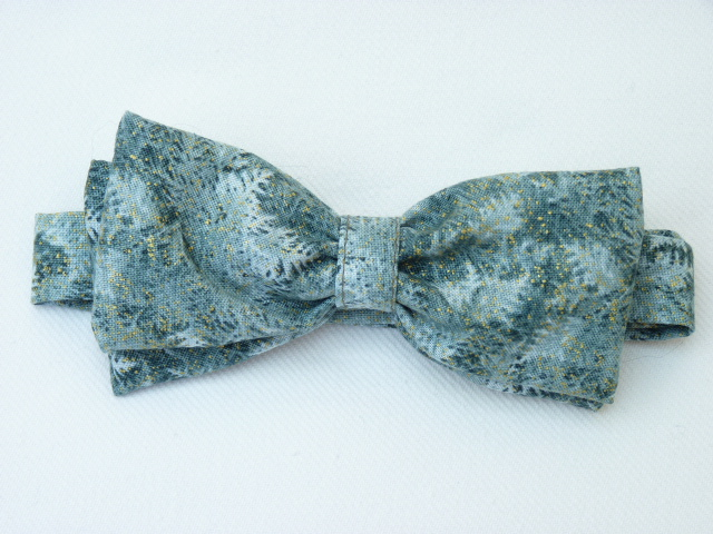Fir Trees Pre Tied Bow Tie