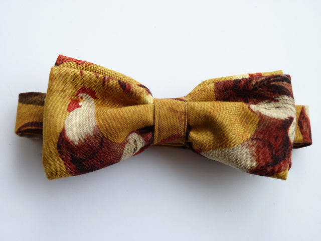 Rooster 2 Pre Tied Bow Tie