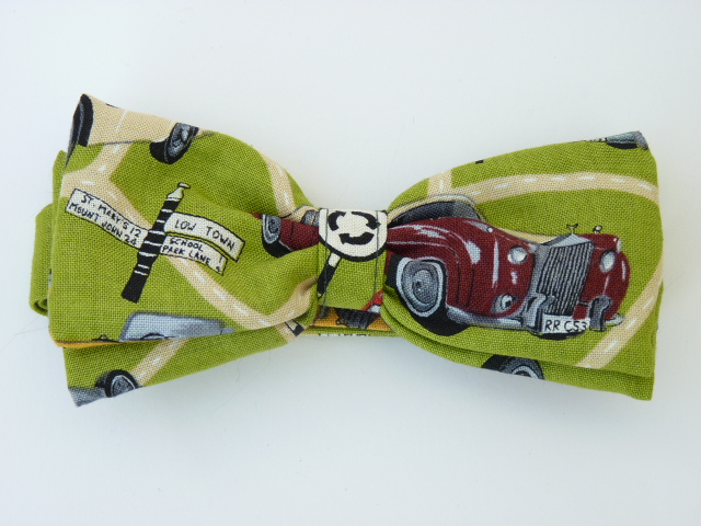 Classic Cars Pre Tied Bow Tie