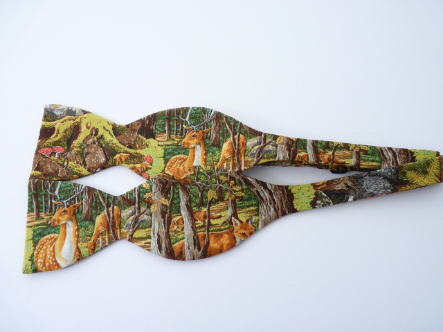 Friends of the Forest Self Tie Bow Tie
