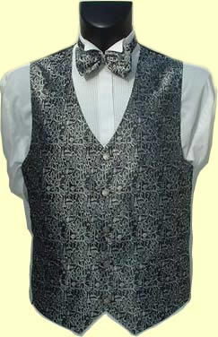Silver Thistle Waistcoat