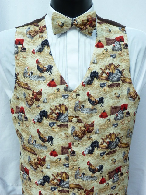 Chickens and Cockerels Waistcoat