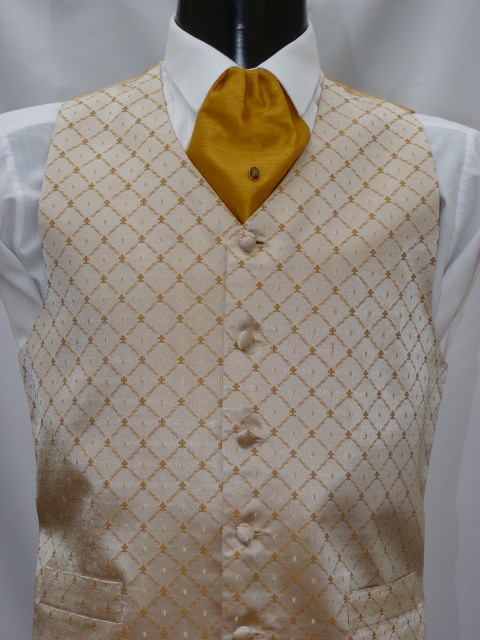 Gold Feather Waistcoat