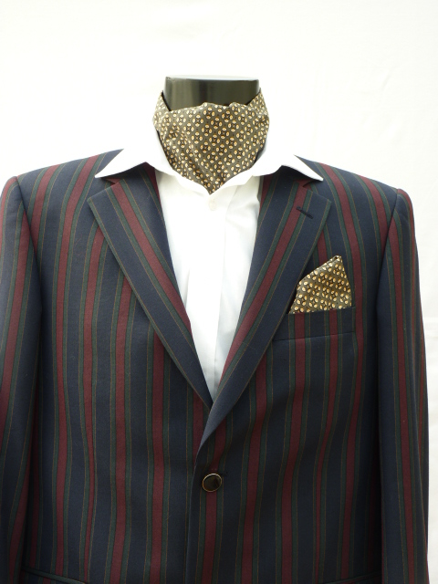 Goodwood Revival Self Tie Day Cravat