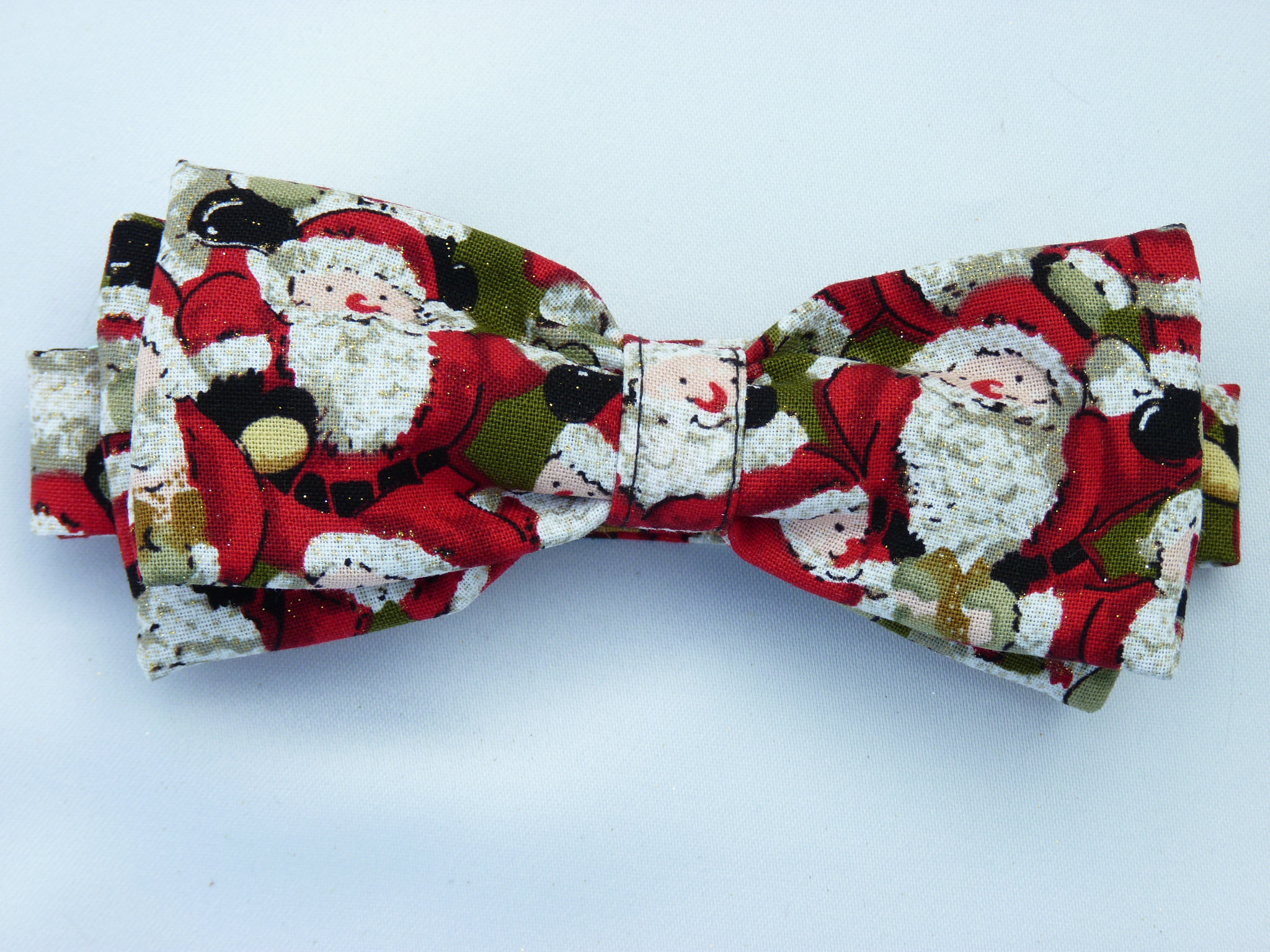 All Over Santa's (Moss) Pre Tied Bow Tie