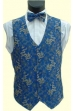 Royal/Gold Dragon Waistcoat